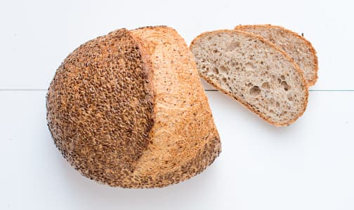 Flax Seed Farmer Bread - Yeast, Sugar & Fat Free- Code#: BR182