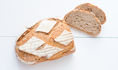 Organic 7 Grain Loaf Sliced - Yeast, Sugar & Fat Free- Code#: BR185