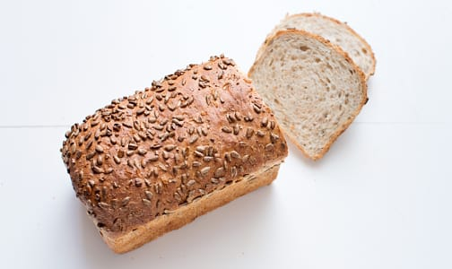 Whole Wheat Sunflower Loaf Unsliced- Code#: BR191