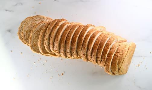 Organic Honey Whole Wheat Sliced Bread- Code#: BR3100