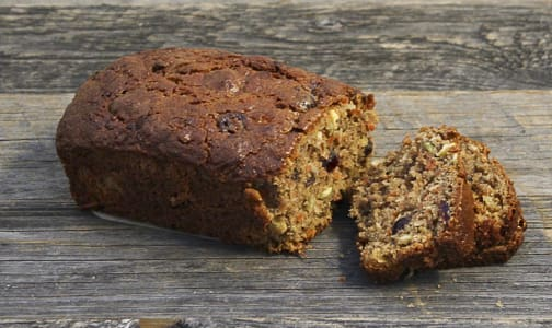 Gluten Free, Morning Glory Loaf- Code#: BR3164