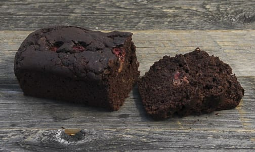 Chocolate, Zucchini & Cherry Loaf- Code#: BR3160