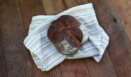 Dark Rye Cocoa Sourdough- Code#: BR3520