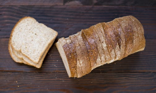 100% Whole Wheat Sliced Loaf- Code#: BR687