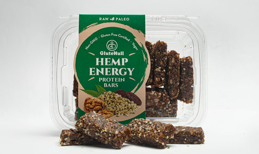 Organic Raw Hemp Energy Protein Bars- Code#: BR783