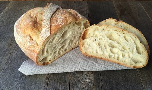 Organic White Sourdough SLICED- Code#: BR8027