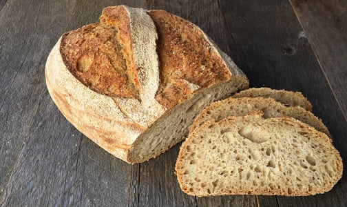 Organic Pain au Seigle (Rye Sourdough) SLICED- Code#: BR8033