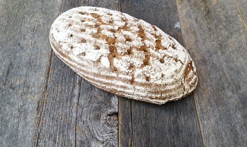 Organic Whole Grain Rye Bread- Code#: BR8058