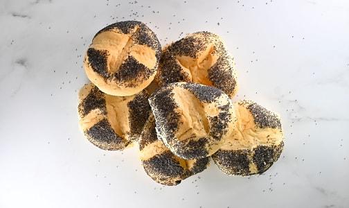 Poppy Seed Kaiser Buns- Code#: BR8074