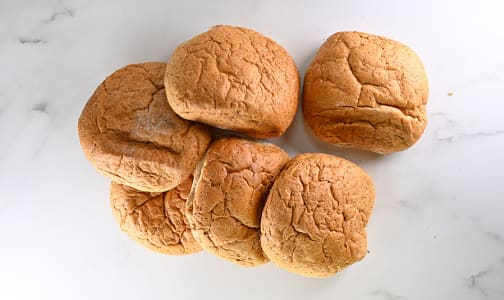 Whole Wheat Hamburger Buns- Code#: BR8081