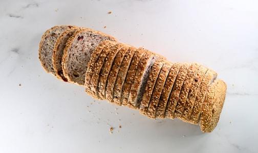 Cranberry Pecan Loaf  (25% Rye)- Code#: BR8087