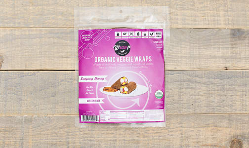 Organic Energizing Morning Veggie Wraps- Code#: BR842