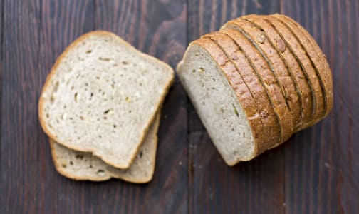 Pumpkin Seed Loaf, Sliced- Code#: BR940