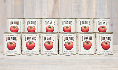 Organic Crushed Tomatoes - CASE- Code#: BU0048-CS