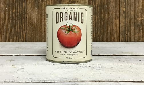 Organic Crushed Tomatoes- Code#: BU0048
