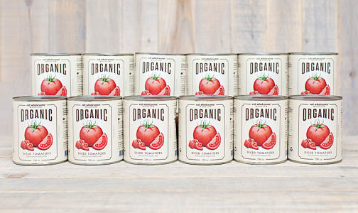 Organic Diced Tomatoes - CASE- Code#: BU0049-CS