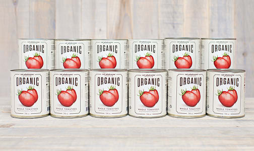 Organic Whole Tomatoes - CASE- Code#: BU0050-CS