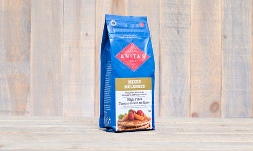 Organic High Fibre Pancake & Waffle Mix- Code#: BU0054