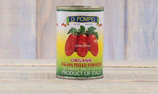 Organic Peeled Tomatoes- Code#: BU0059