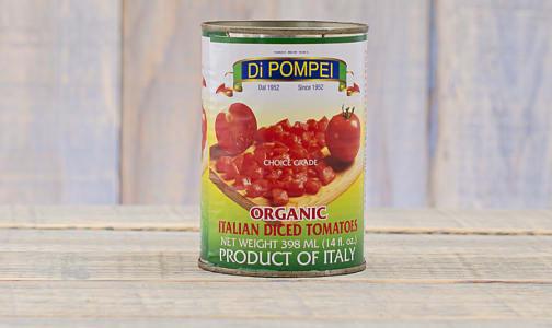 Organic Diced Tomatoes- Code#: BU0069