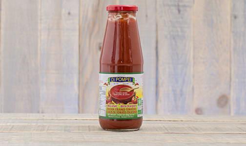 Organic Strained Tomatoes- Code#: BU0084
