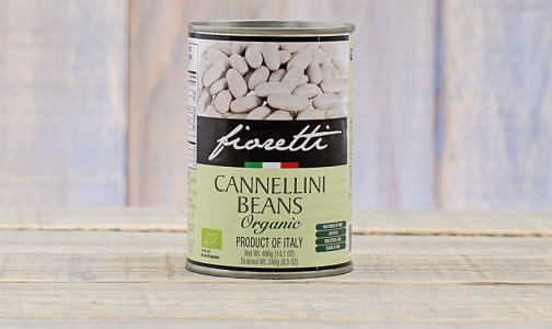 Organic Cannellini Beans- Code#: BU0098
