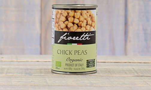Organic Chick Peas- Code#: BU0121