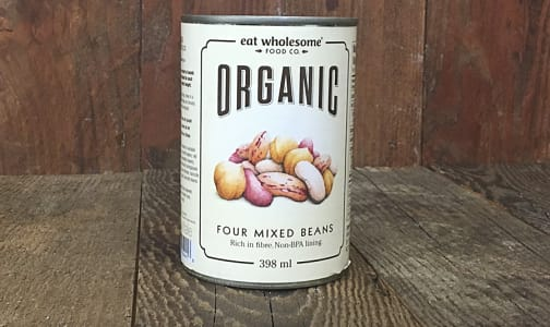 Organic Four Mixed Beans- Code#: BU0127