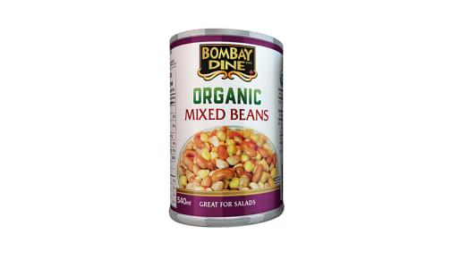 Organic Mixed Beans- Code#: BU0133