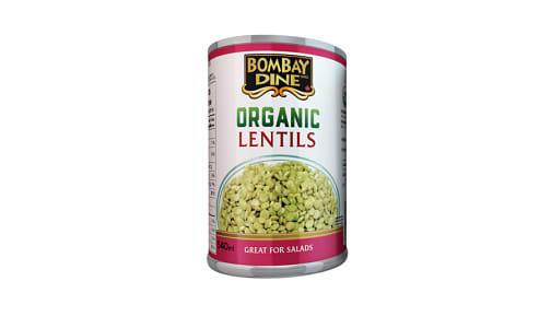 Organic Green Lentils- Code#: BU0134