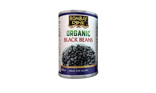 Organic Black Beans- Code#: BU0136