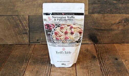 Gluten-Free Waffle & Pancake Mix- Code#: BU0183