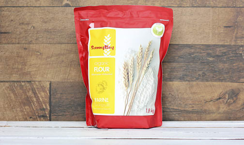 Organic Unbleached All-Purpose Flour- Code#: BU0217
