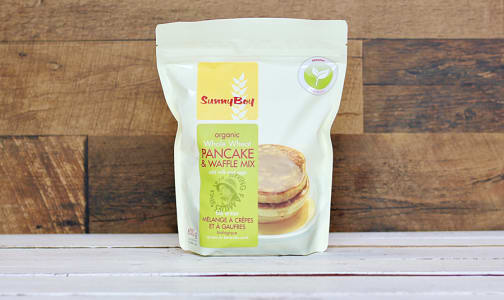 Organic Whole Wheat Pancake & Waffle Mix- Code#: BU0218