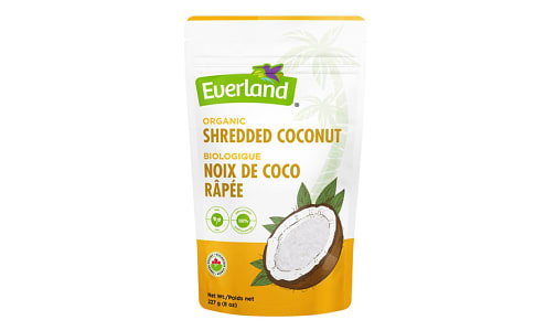 Organic Coconut - Shredded, Dried, Raw- Code#: BU0225