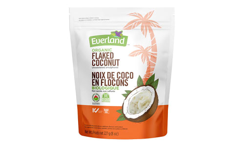Organic Coconut - Flaked, Raw- Code#: BU0226