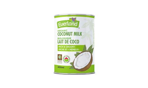 Organic Rich & Creamy Coconut Milk- Code#: BU0228
