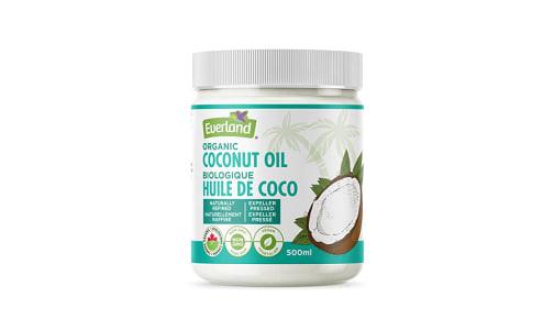 Organic Coconut Oil- Code#: BU0229