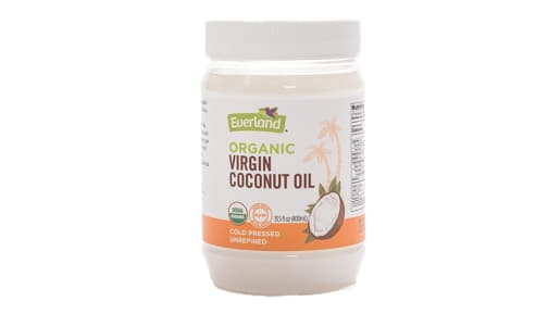 Organic Organic Virgin Coconut Oil- Code#: BU0242