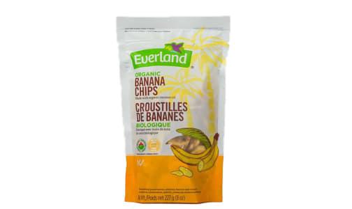 Organic Banana Chips- Code#: BU0248