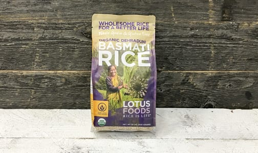 Organic Traditional Dehraduni Basmati Brown Rice- Code#: BU024