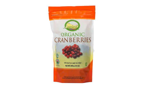 Organic Dried Cranberries- Code#: BU0251