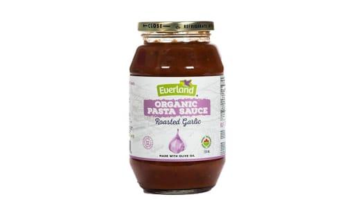 Organic Roasted Garlic Pasta Sauce- Code#: BU0255