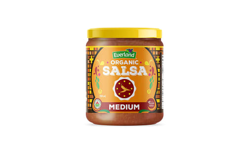 Organic Medium Salsa- Code#: BU0258