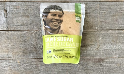 Organic Level Ground - Fair Trade Cane Sugar- Code#: BU0301