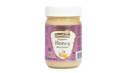 Organic Honey - Raw, Creamed, Organic- Code#: BU0303