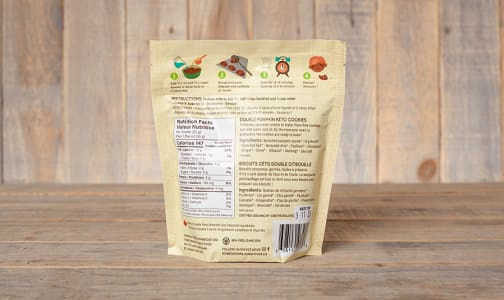 Organic U Bake Keto Cookies - Double Pumpkin- Code#: BU0316
