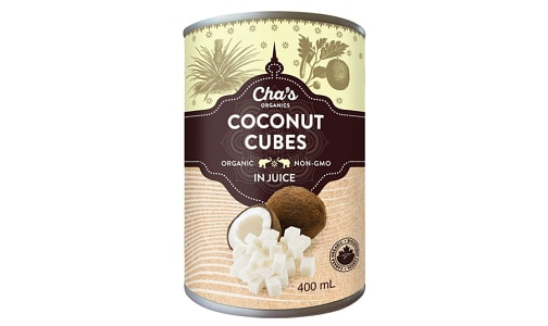 Organic Cocount Cubes- Code#: BU0336