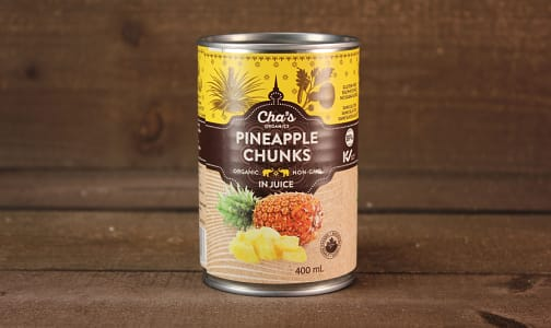 Organic Pineapple Chunks- Code#: BU0339