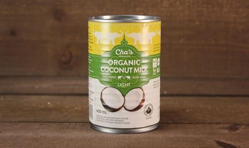 Organic Light Coconut Milk (BPA & Gum Free)- Code#: BU0342